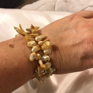 2- Ultra Rare Genuine Keishi Pearl Bracelets